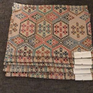 New Set of 5 Threshold Placemats